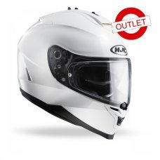 CASCO HJC IS-17 METALICO BLANCO