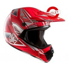 CASCO HJC CROSS NIÑO CL-XY WHIRL MC-28
