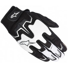 GUANTE ALPINESTARS FIGHTER AIR BLANCO-NEGRO